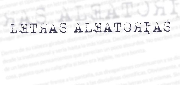 Letras Aleatorias