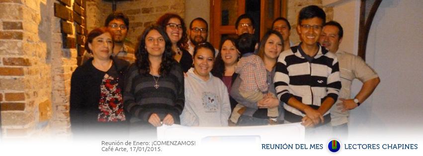 Primera reunión de Lectores Chapines 2015