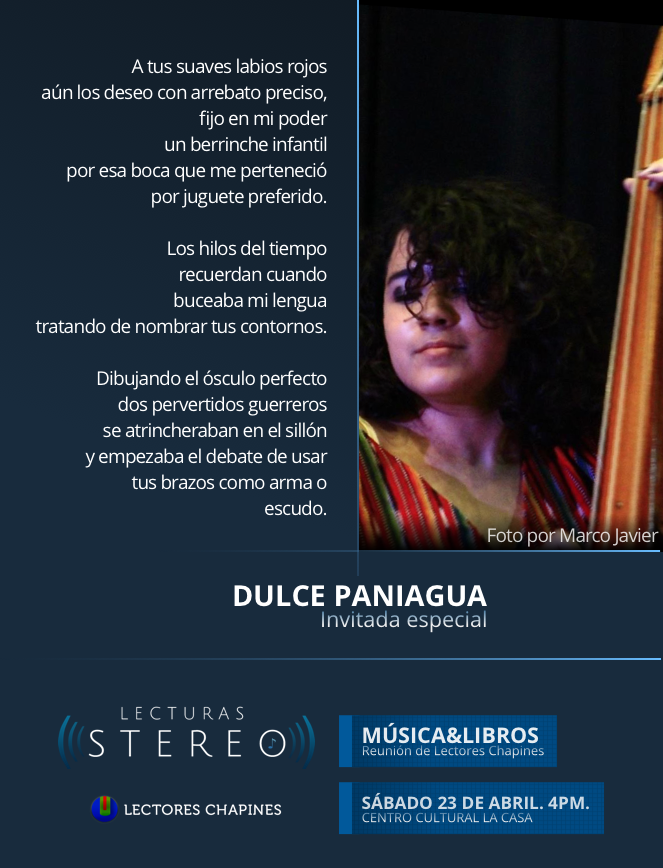 Lecturas Stereo: Dulce Paniagua