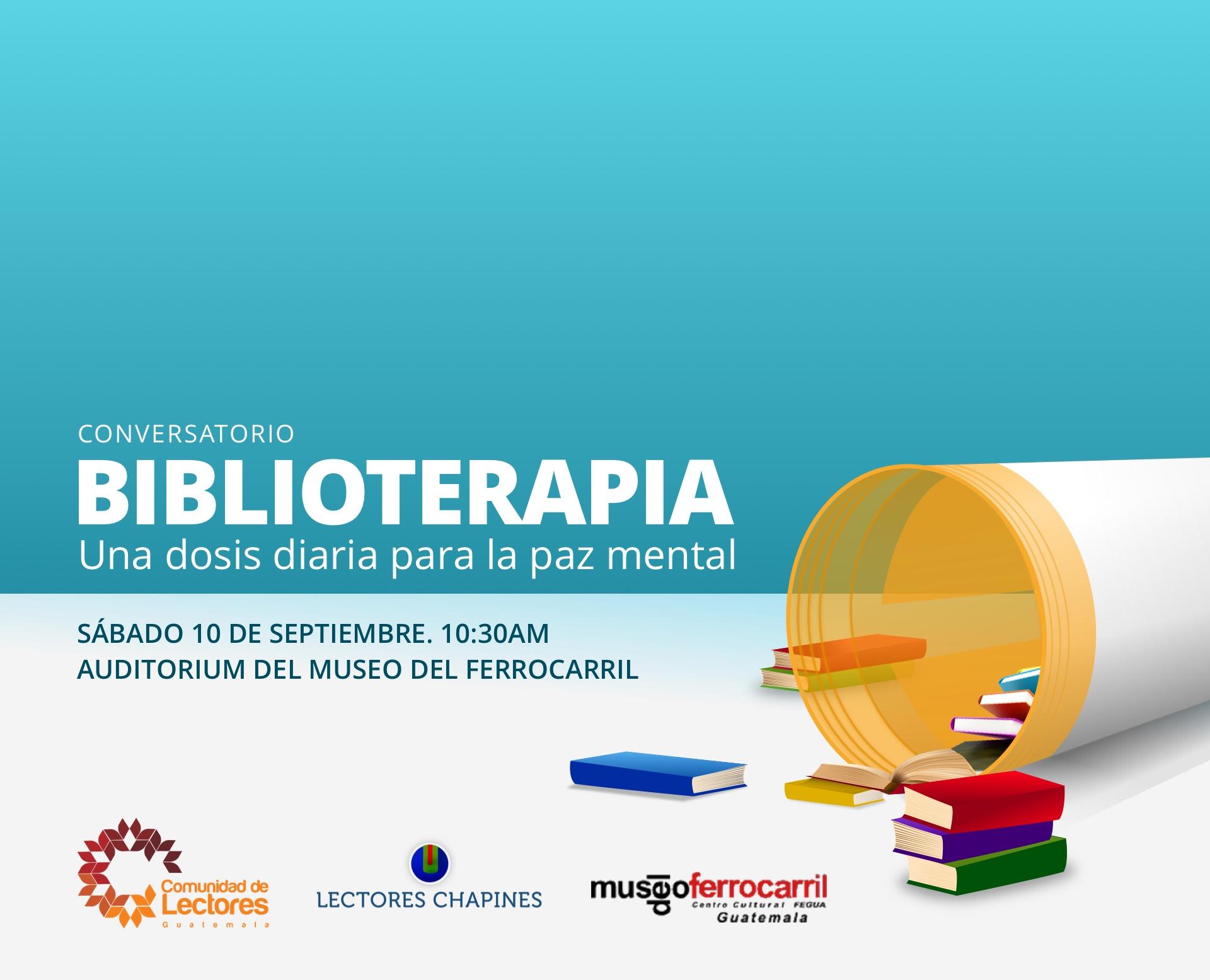 Biblioterapia - Una dosis diaria para la paz mental